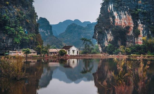 A beautiful Vietnamese scene.